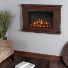 real flame jackson slim line wall hung electric fireplace vintage black maple com