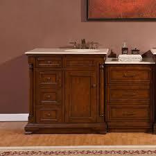 Bathroom Vanitiy New 4848 48cm Right Sink Bathroom Single Vanity Marble Top Drawer