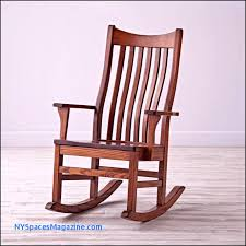 vintage wooden rocking chair unique new wooden glider rocking chair new york spaces
