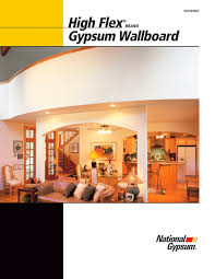 High Flex Gypsum Board National Gypsum Pdf Catalogues