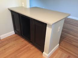 custom made custom barn door kitchen island