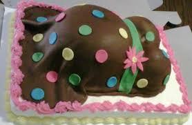 Shower Cakes a La CupCakes Asheville NC