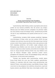 Contoh Tugas Resume Tugas Pspb Resume Konsep Agroekoteknologi 8