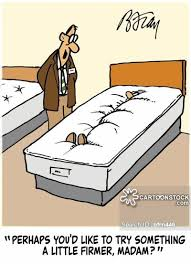 Firm Mattresses Cartoons and Comics funny pictures from CartoonStock