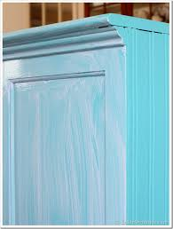 turquoise painted furniture ideas. Painting-Furniture-Glazing-tutorial Turquoise Painted Furniture Ideas
