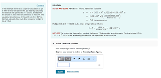 solved constants solution set up and