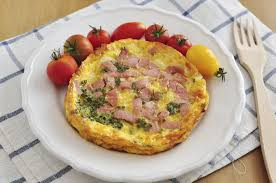 the calories in a three egg ham cheese omelet