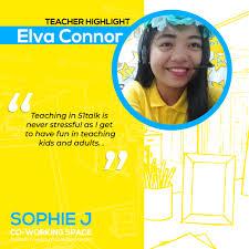 Our pioneer teacher,... - Sophie J-51talk Accredited Center   Facebook