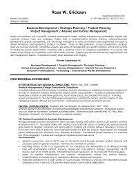 Sample Resume For Senior Business Development Manager Best Of