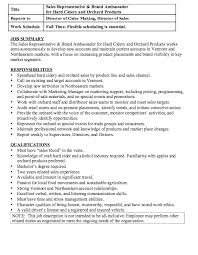 this example Brand Ambassador Job Description Resume we will give you a  refence start on building resume.you can optimized this example resume on  creating