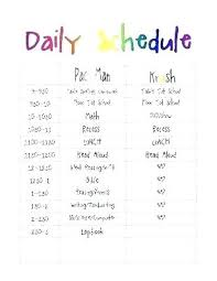 Summer Camp Daily Schedule Template Daily Activity Planner Template Summer Camp Daily Activity Schedule