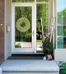 aluminum clad exterior doors