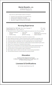 Licensed Practical Nurse Resume Template Free Resume Example And