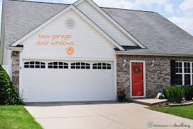how to install faux garage door windows to instantly improve your curb appeal delineate your