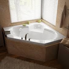 bathroom small jacuzzi bathtub creative elegant center drain bathtub skirt on two sides bathtub skirt