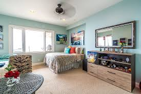 bedroom and more. Move The Bed Into A Corner To Give Kids\u0027 Bedroom More Spacious Vibe And E