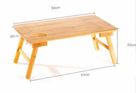 wood portable folding laptop table bed table home furniture bamboo laptop computer desk se22