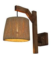 wall light e27 wood vintage 210mm