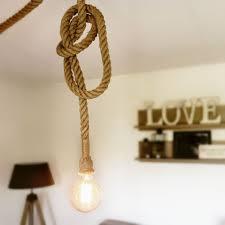 Goedkope Creatieve Persoonlijkheid Hanger Touw Lichten Zwarte