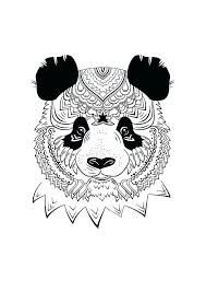 Panda Coloring Sheet Panda Coloring Pages Alluring Awesome Coloring
