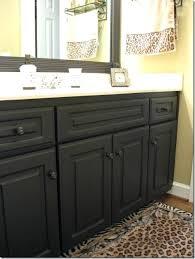 painted bathroom cabinets painting bathroom cabinets black spray paint painting brown bathroom cabinets white