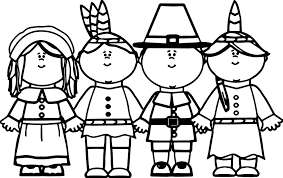 Small Picture Pilgrim Native American Coloring Page Wecoloringpage