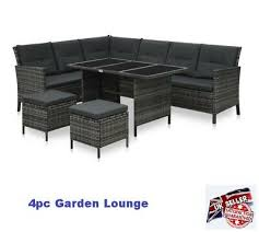 patio large dining set garden sectional