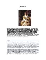 why was slavery abolished in the british empire by    a level  nell gwyn playhouse cretaures essay