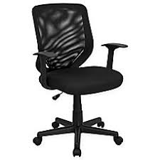 office chair bed. Image Of Flash Furniture Mid-Back Mesh Task Chair With Padded Seat Office Bed