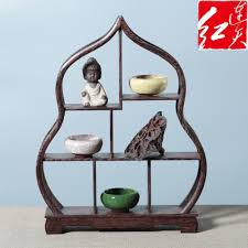 Wooden Display Stands For Figurines Shape Of Peach Wooden Display Stand Rosewood Figurines 25