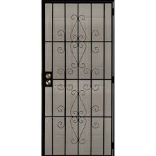 security doors at lowes. Wonderful Doors Steel Doors At Lowes Wrought Iron Security Screen Decorative  Storm Home   Intended Security Doors At Lowes