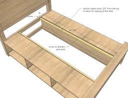 diy bed frame with storage farmhouse storage bed with drawers diy projects on bed frame storage