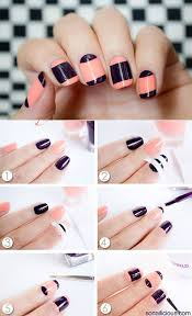 easy at home nail designs for short nails. easy nail designs for short nails to do at home