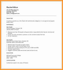 Resume Template With Objective 12 13 Esthetician Resume Objectives Loginnelkriver Com