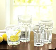 drinking glasses water bottle glass best everyday glassware blue