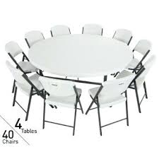 assets images lifetime round folding table 6 foot weight 4 inch tables chairs package in white