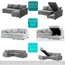 home the best grey corner sofa beds