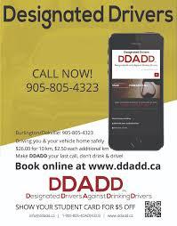 Designated Driver Saskatoon Ddadd Designated Driver Service