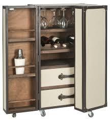 fox9511a bar carts furniture by bar carts bar and trunks bar trunk furniture