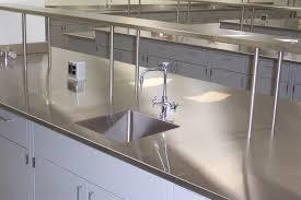 phenolic resin laboratory work surface sink stainless steel