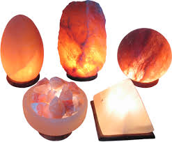 "Lumiere Salt Lamp Classy Lumière De Sel""Shaped"" Himalayan Crystal Salt Lamps Ecoideas"