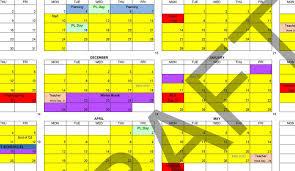 How To Make A School Calendar Flagler County Schools 2020 21 Calendar