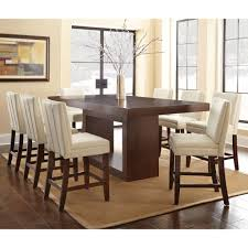 likable dining room furniture trestle counter plank small round dining table set octagon farmhouse red for 12 solid wood painted wood spruce wood medium
