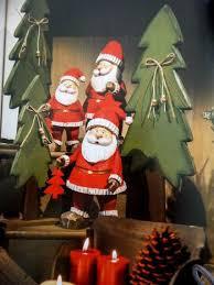 Holz Deko Tanne Weihnachten Set Baum Dekoration Fensterdeko Tischdeko Advent