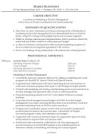 Sample Resume Marketing Product Management P1 ...