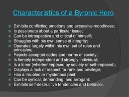 ppt gatsby the byronic hero powerpoint presentation id  characteristics of a byronic hero allison fisher