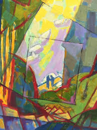 herb kornfeld figurative painting oil painting the contemporary abstract painting