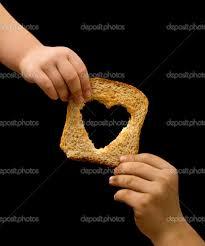 Resultado de imagem para imagens de repartir pão