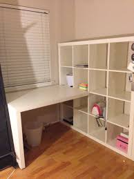 office desk with bookshelf. White Desks Ikea | Expedit Desk Manuals Office With Bookshelf
