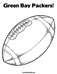 Green Bay Packers Coloring Pages